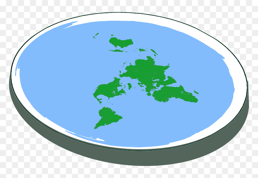 Flatearth - Flat Earth Transparent Background, HD Png Download