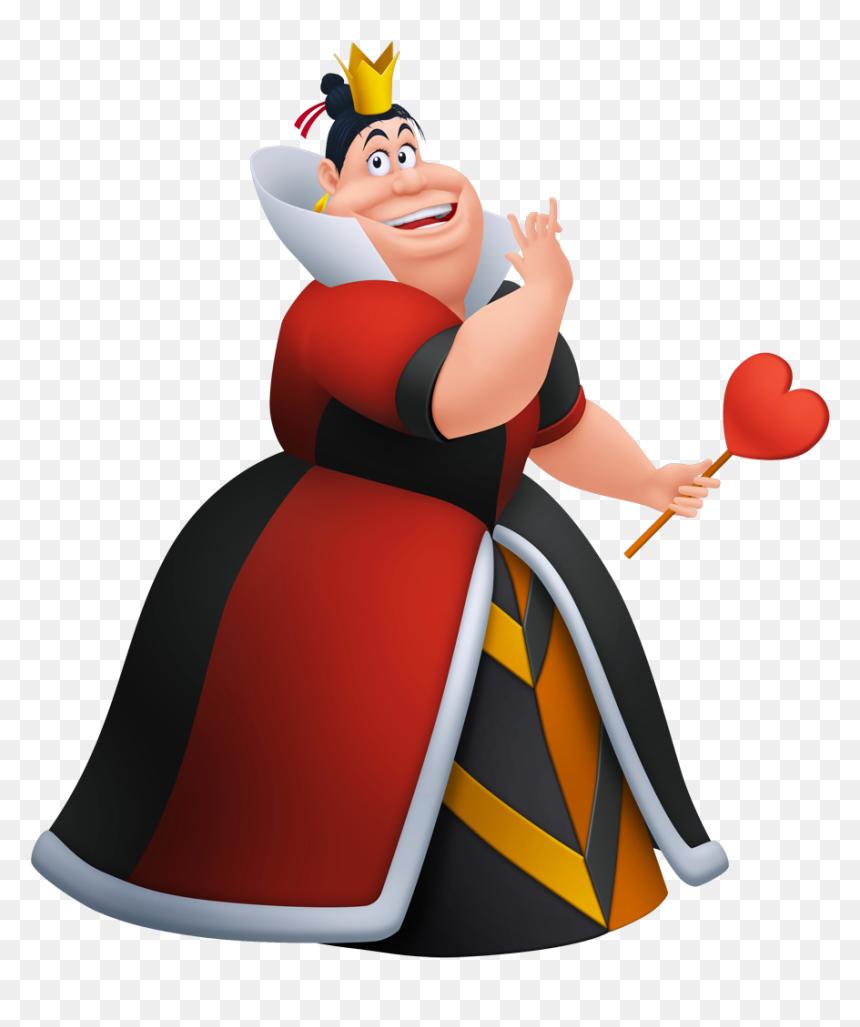 Queen Of Hearts Alice In Wonderland Cartoon, HD Png Download