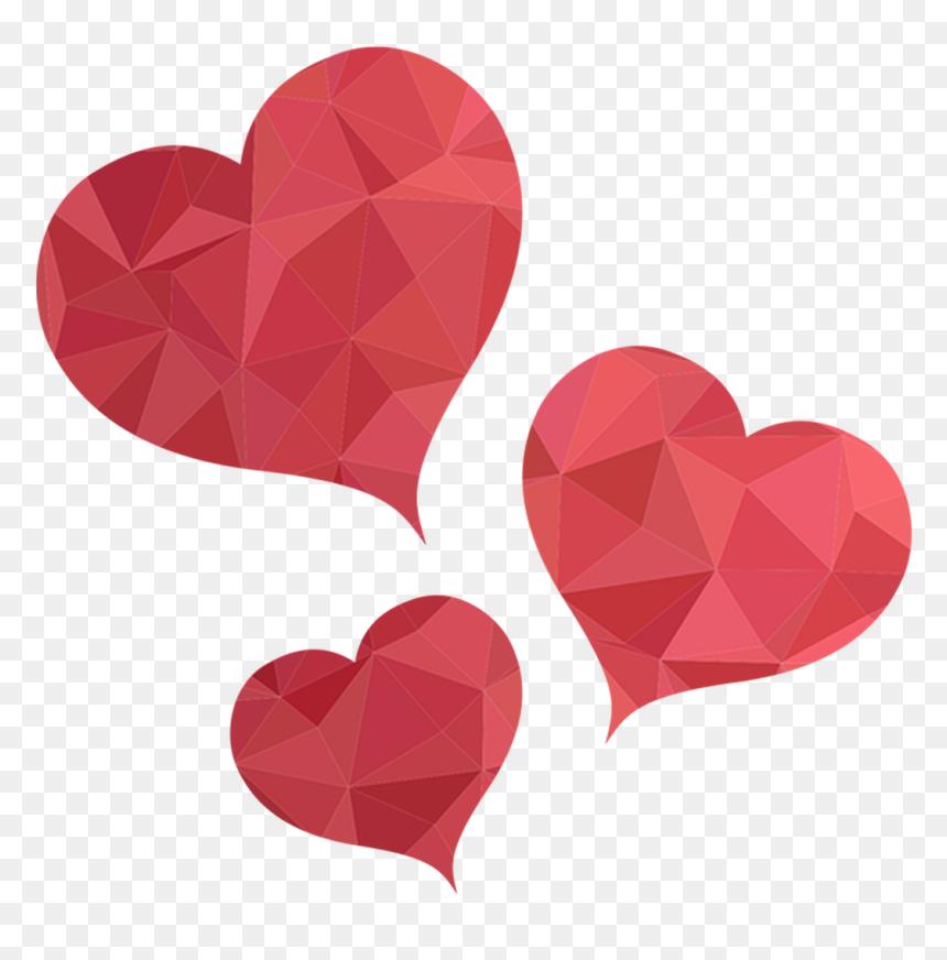 Love Shapes Png, Transparent Png