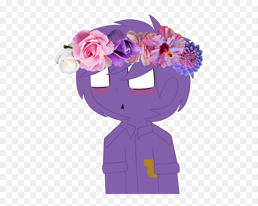 Purple Guy With A Flower Crown Rose Hd Png Download 507x606 Png Dlf Pt 128 watchers4.7k page views31 deviations. dlf pt