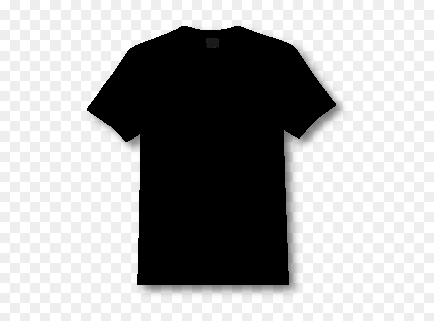 Black T Shirt For Photoshop, HD Png Download