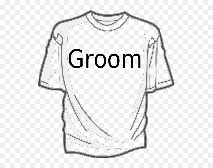 Groom Shirt Png Icons - White Shirt Vector Png, Transparent Png