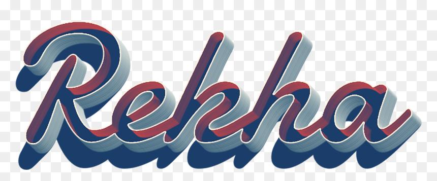 Rekha Name Wallpaper - Graphic Design, HD Png Download