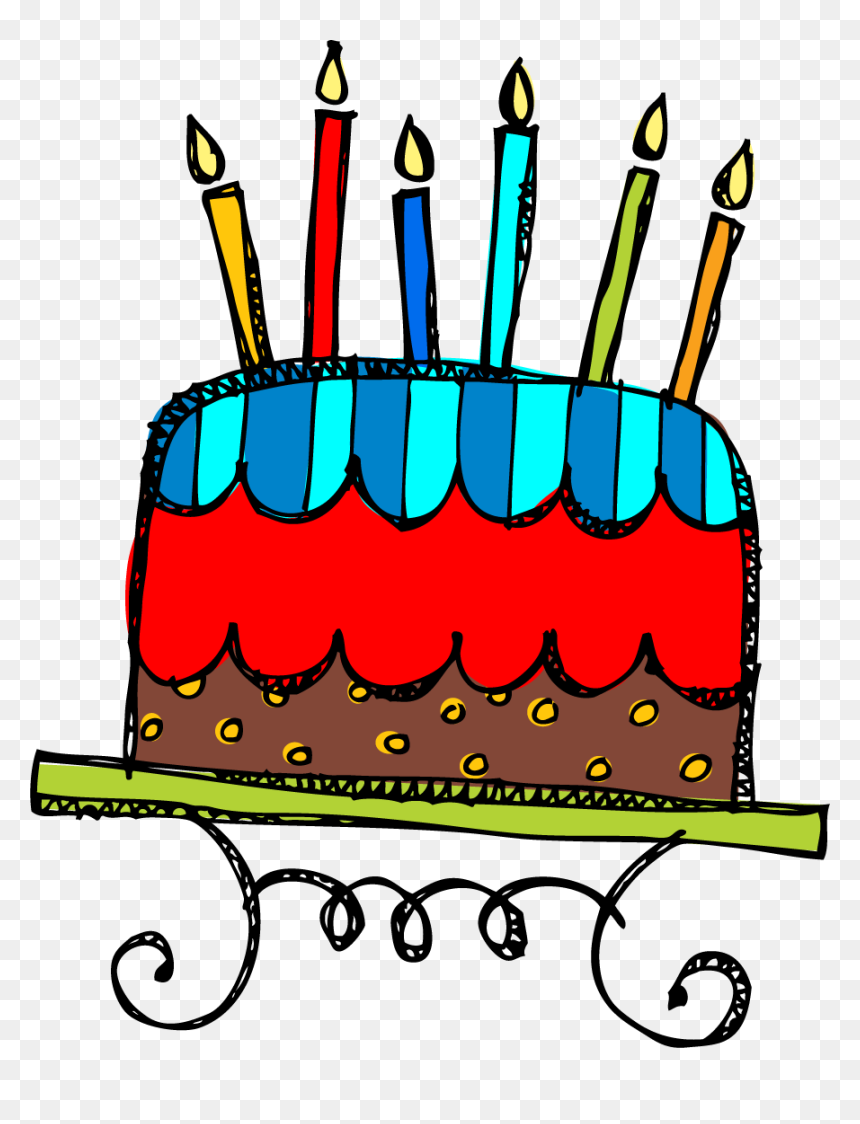 Birthday Cake Clip Art Png - Birthday Cake Clipart Free, Transparent Png