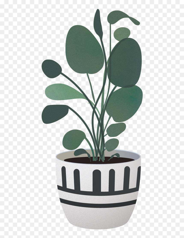 Indoor Plant Vector Png, Transparent Png