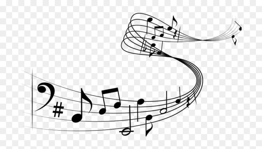 Musical Note Staff Choir - Music Notes Png, Transparent Png