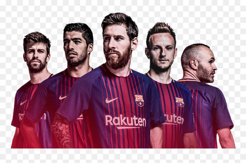 Jogadores Barcelona Png - Barcelona Football Team Png, Transparent Png