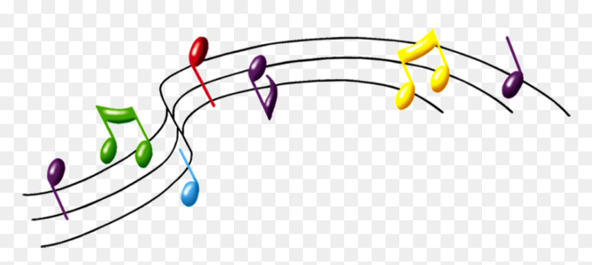 Png Music 2016 Download - Music Notes Clipart Transparent Background, Png Download