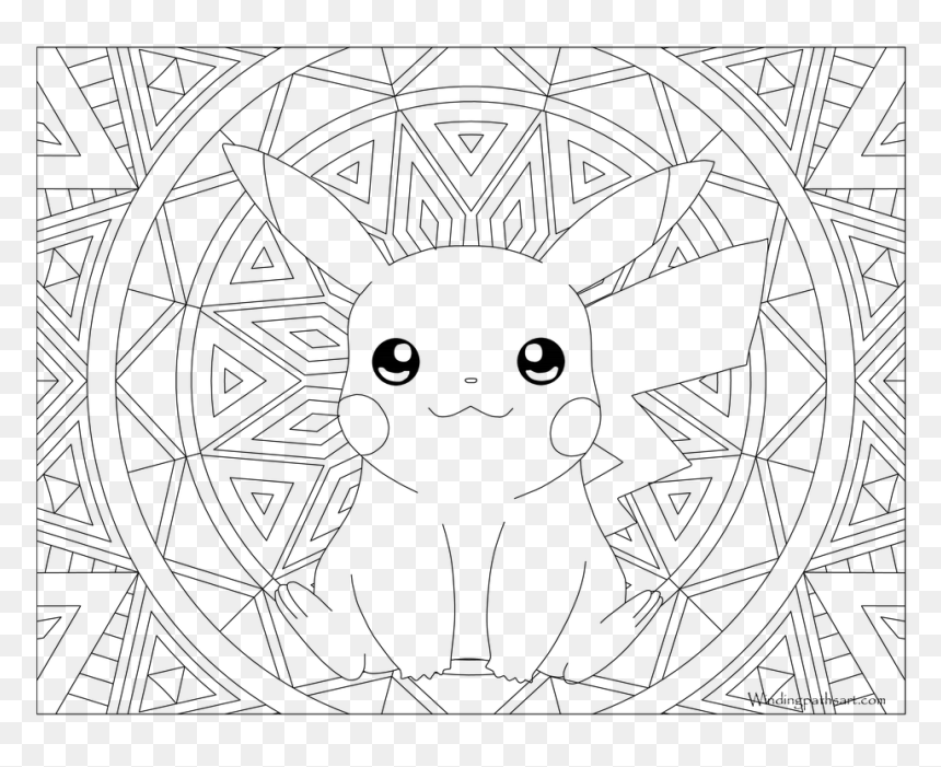 Pokemon Coloring Pages Gyarados With Adult Page Pikachu ...