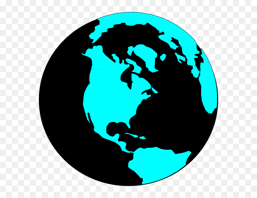 World Map Vector Round, HD Png Download