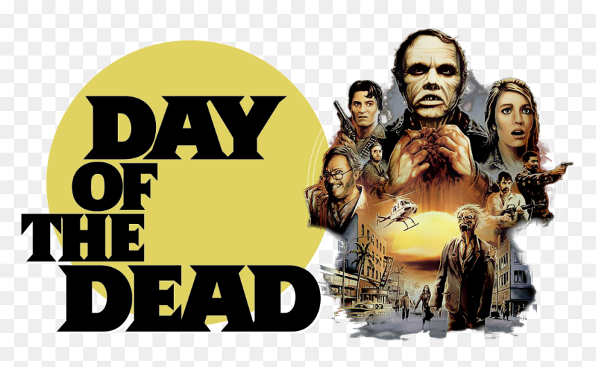 Day Of The Dead Image - Day Of The Dead 1985, HD Png Download