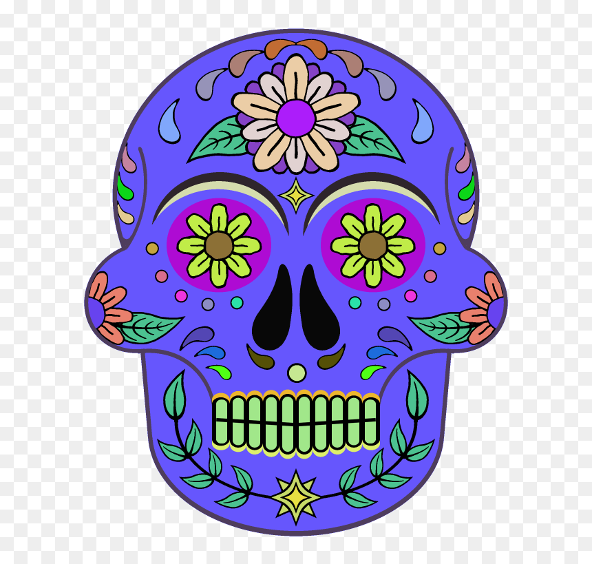 Day Of The Dead 800 X 800 Png Transparent - Portable Network Graphics, Png Download