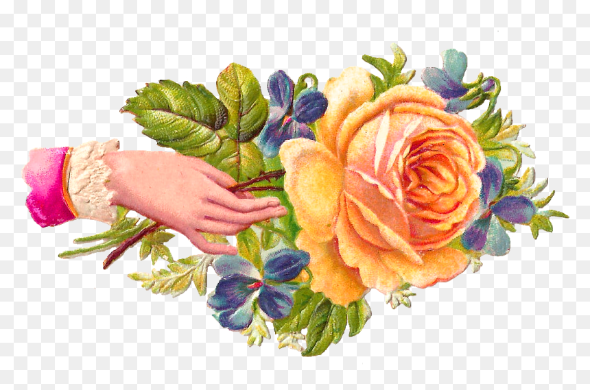 Flower Welcome Hands Png Clipart , Png Download - Welcome Images With Hands, Transparent Png