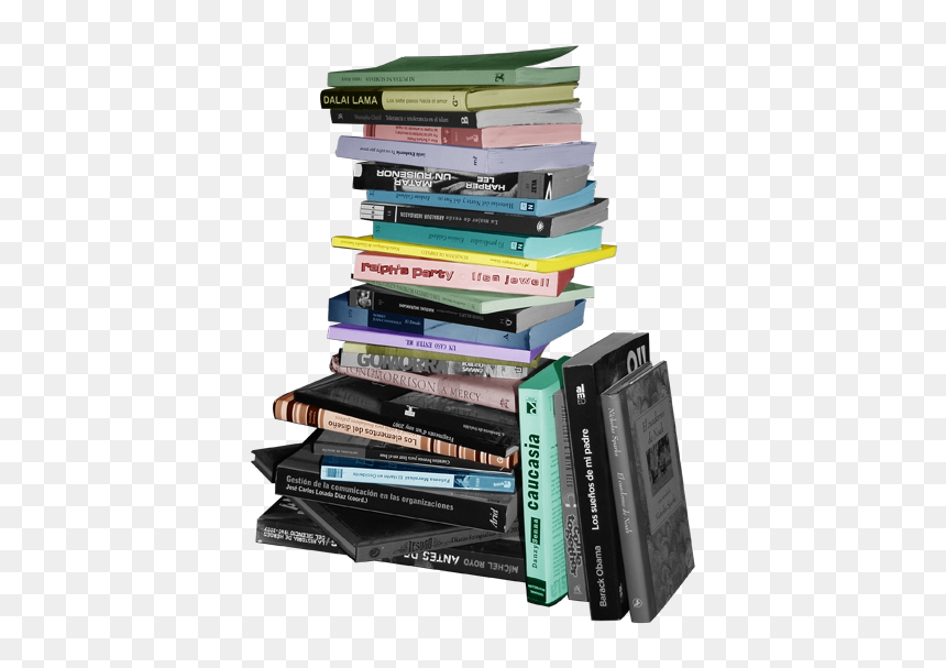Pila Librospastelok - Pila De Libros Png, Transparent Png