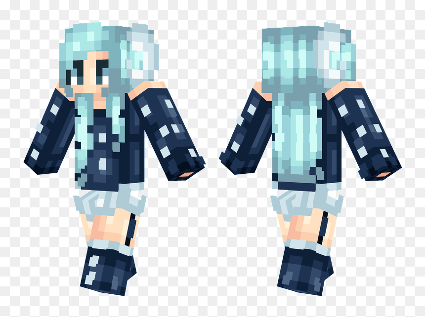 Minecraft Girl Skins, HD Png Download