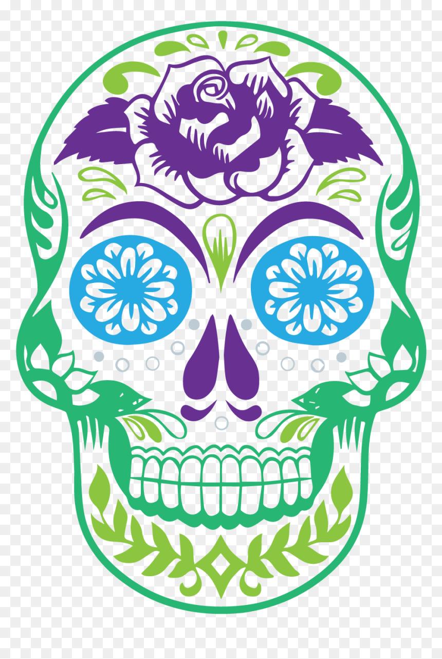 Dia De Los Muertos Png, Transparent Png
