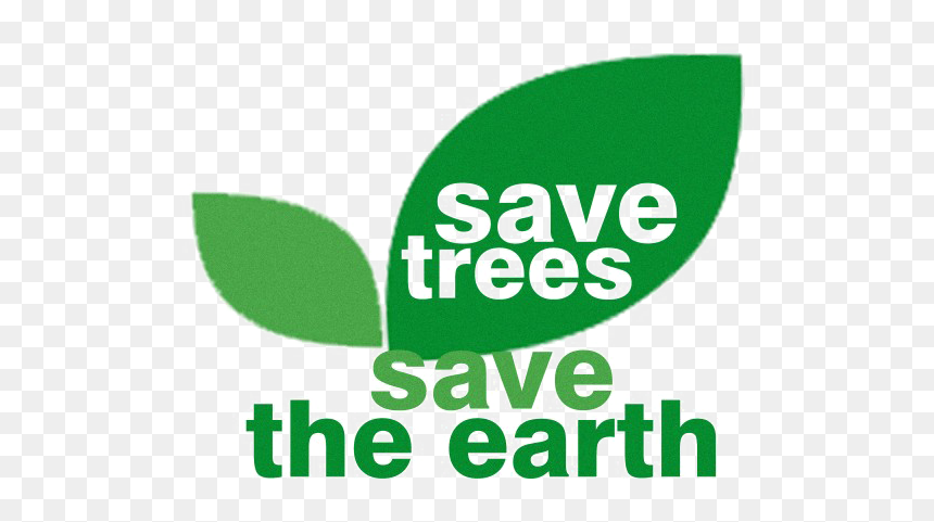 Save Earth Png Image - Transparent Png Save Tree Png, Png Download