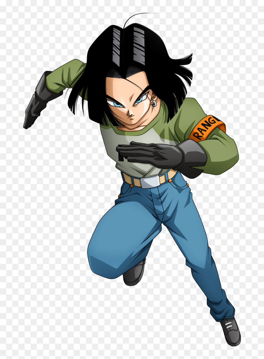 Android 17 5 By Nekoar-db7h3vr - Android N 17 Dragon Ball Super, HD Png Download