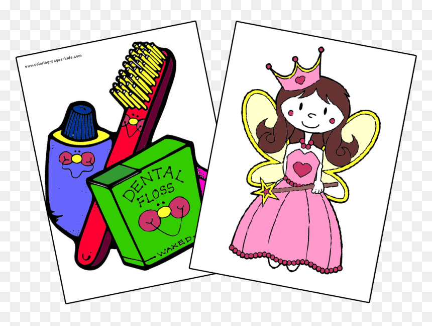 Coloring-pages - Dentist Coloring Pages Teeth, HD Png Download