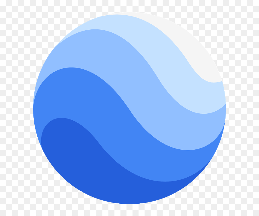New Google Earth Icon, HD Png Download