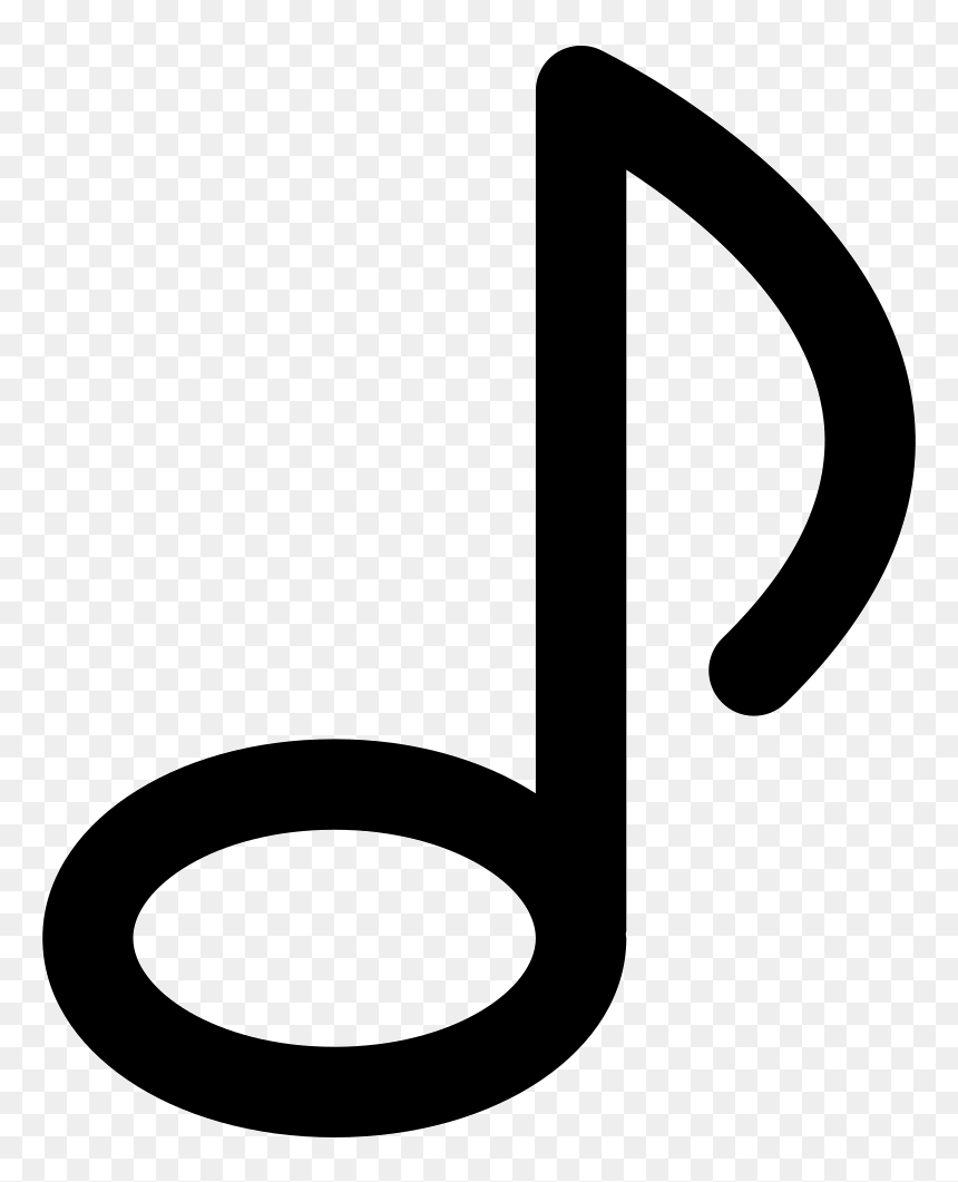 Transparent Music Note Logo Png - Notes Music Icon Png, Png Download