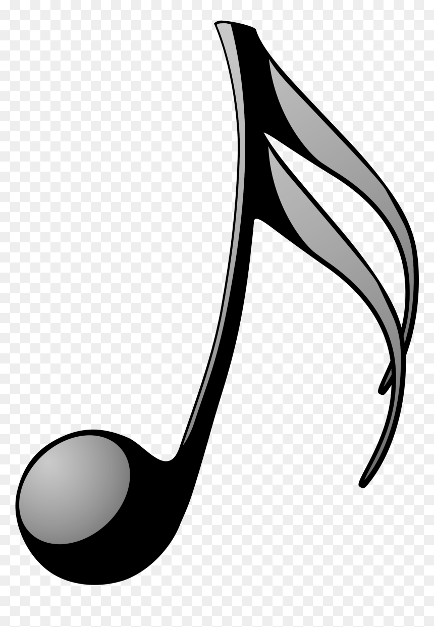 Transparent Music Note Clipart - Music Note Pdf, HD Png Download