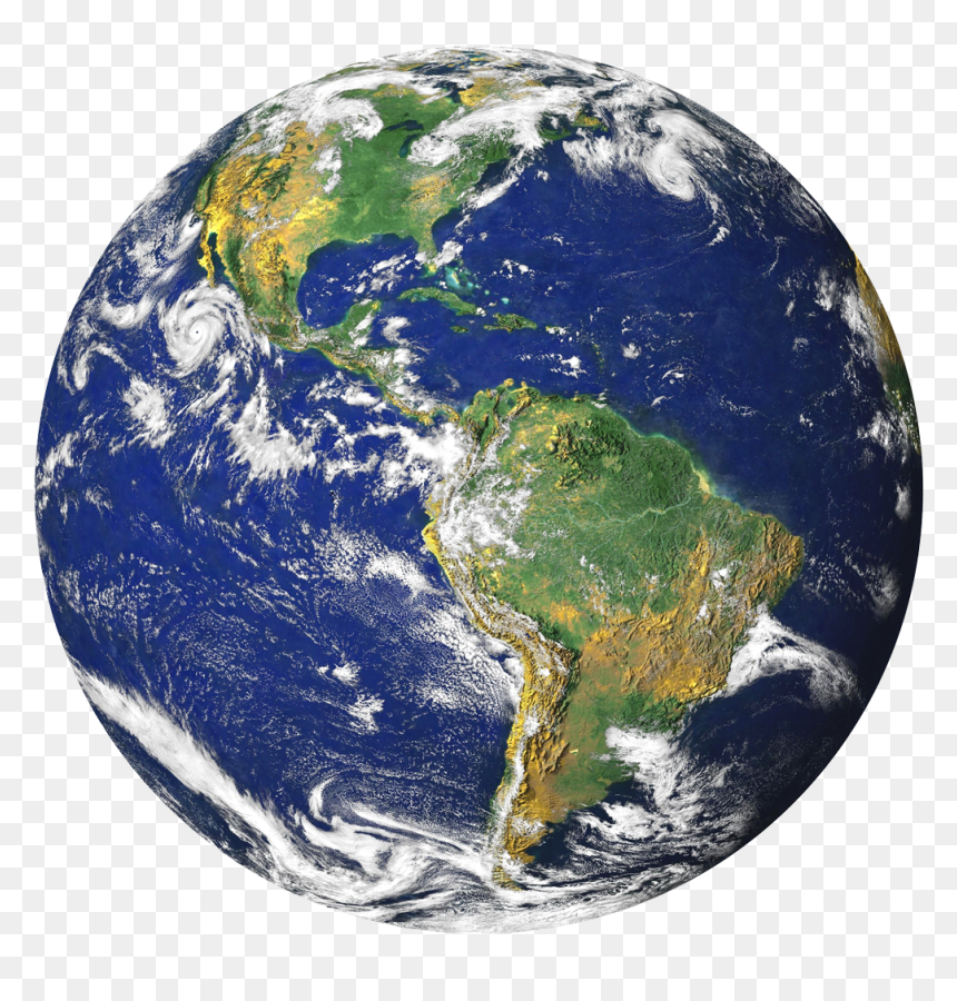 Earth Png Transparent Image - Transparent Background Earth Png, Png Download