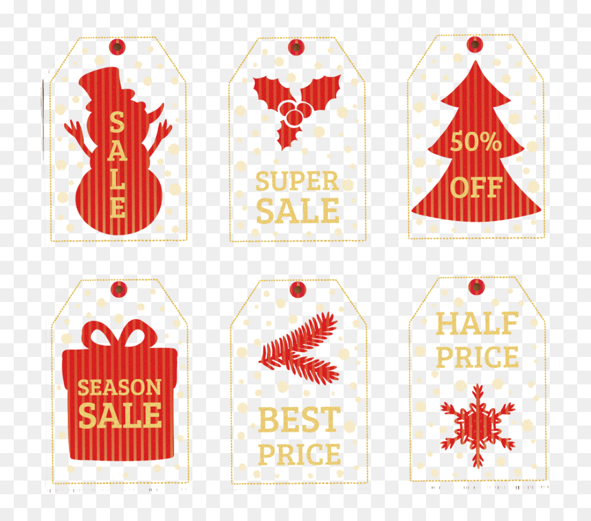 And Discount Discounts Tag Allowances Christmas - Sale Christmas Png, Transparent Png