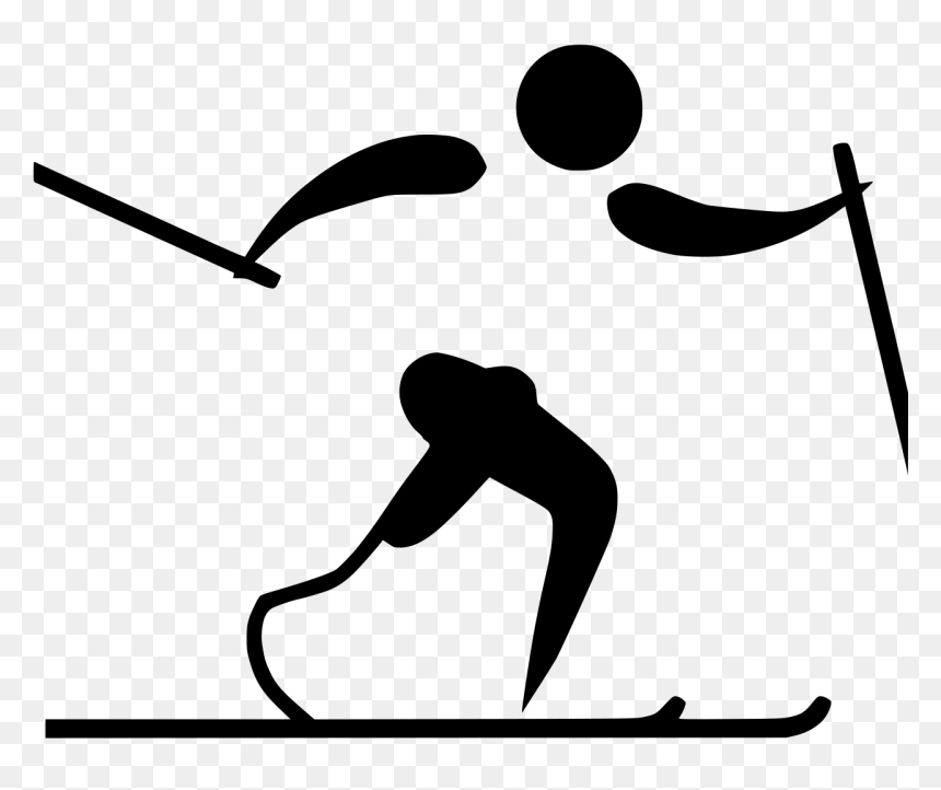 Cross-country Skiing, HD Png Download