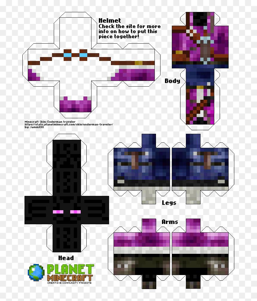 Transparent Minecraft Enderman Png - Skin De Sonic Para Minecraft