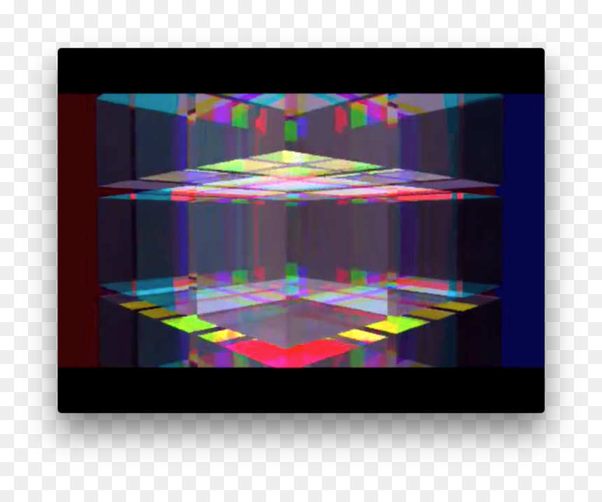 Is A 20-second 3d Animation Of Glass Cube Movement, - Art, HD Png Download