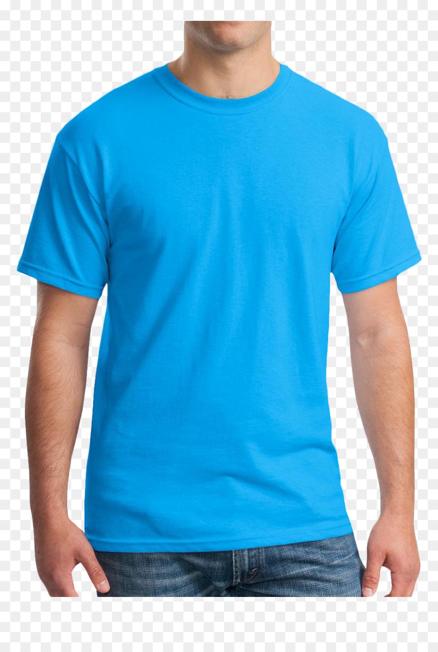 Baby Blue T Shirt Template - John Cena T Shirt Orange, HD Png Download