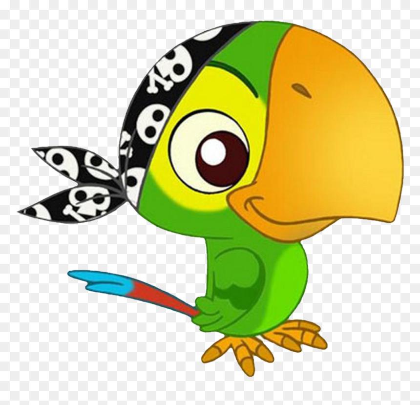- Loro De Jake El Pirata - Loro De Jake Y Los Piratas, HD Png Download