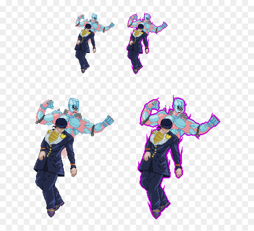 Crazy Diamond Png Png Download Josuke Sprite Transparent Png 633x701 Png Dlf Pt Search more high quality free transparent png images on pngkey.com and share it with your friends. crazy diamond png png download
