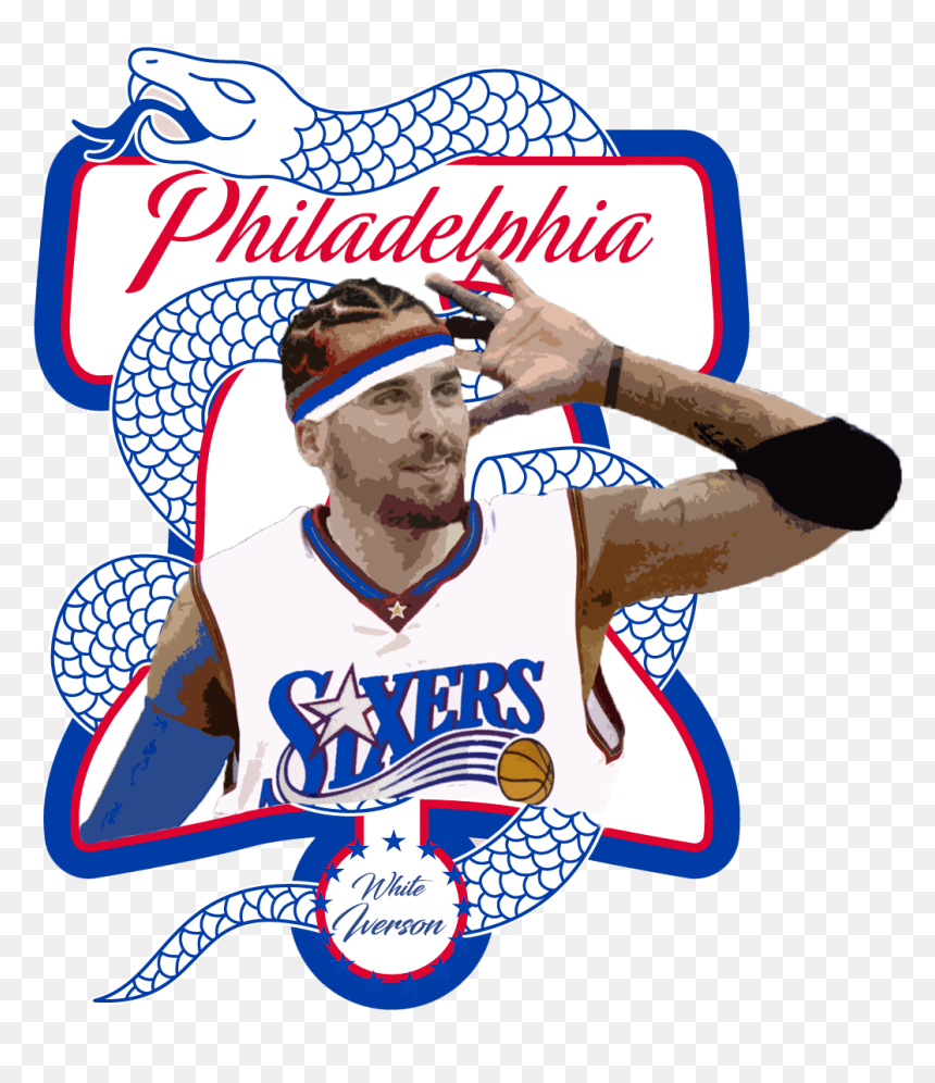 White Iverson The Livest One Philadelphia 76ers Wallpaper Iphone Hd Png Download 1032x1148 Png Dlf Pt