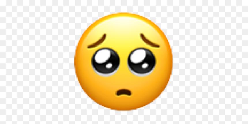 Emoji Emojis Emoticones Emojie Emojitumblr Nuevosemojis Pleading Face Emoji Png Apple Transparent Png 636x699 Png Dlf Pt