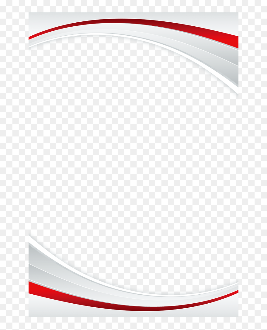 Simple Red Border Design, HD Png Download
