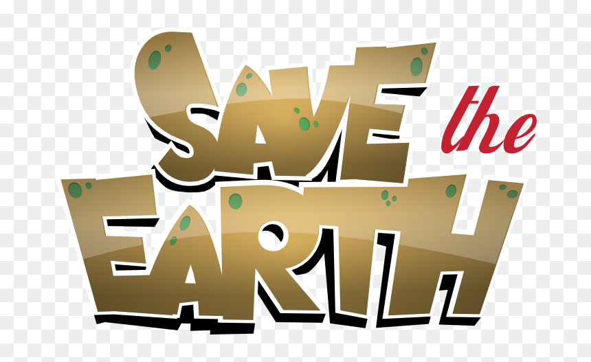 Save Earth Png Download Image - Save The Earth Png, Transparent Png