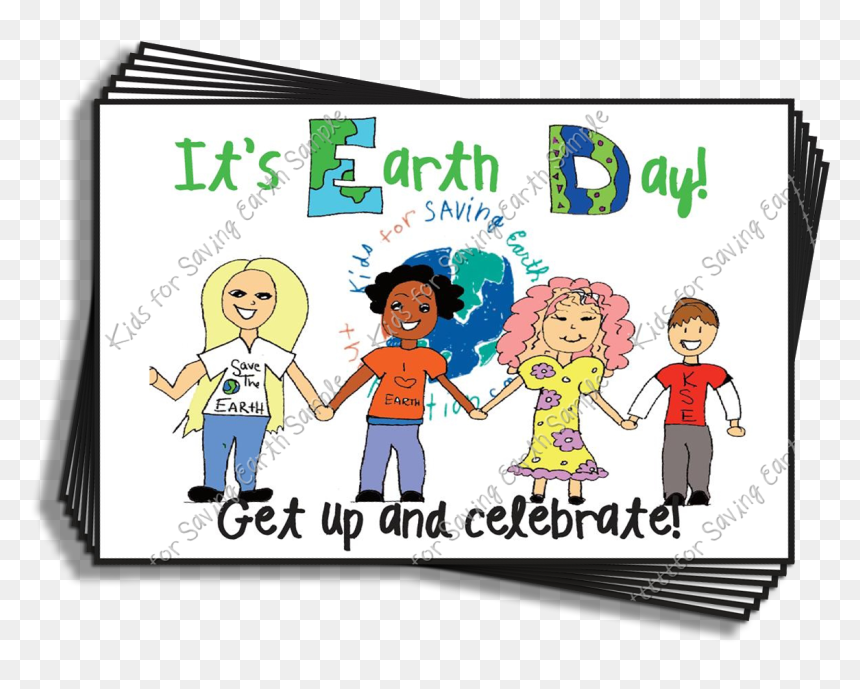 Transparent Save Earth Png - Cartoon, Png Download