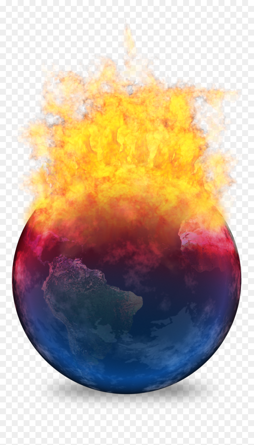 Earth 2012 - Earth Climate Change Art, HD Png Download