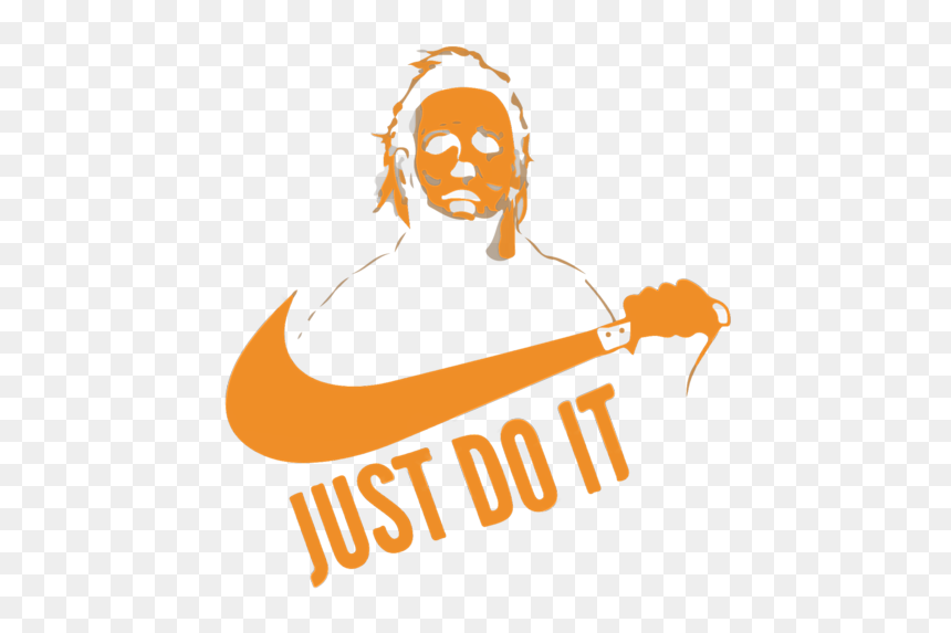 Michael Myers Just Do It Png, Transparent Png