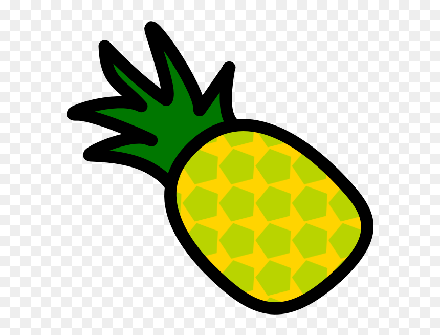 Pineapple Icon - รูป ผล ไม้ การ์ตูน, HD Png Download