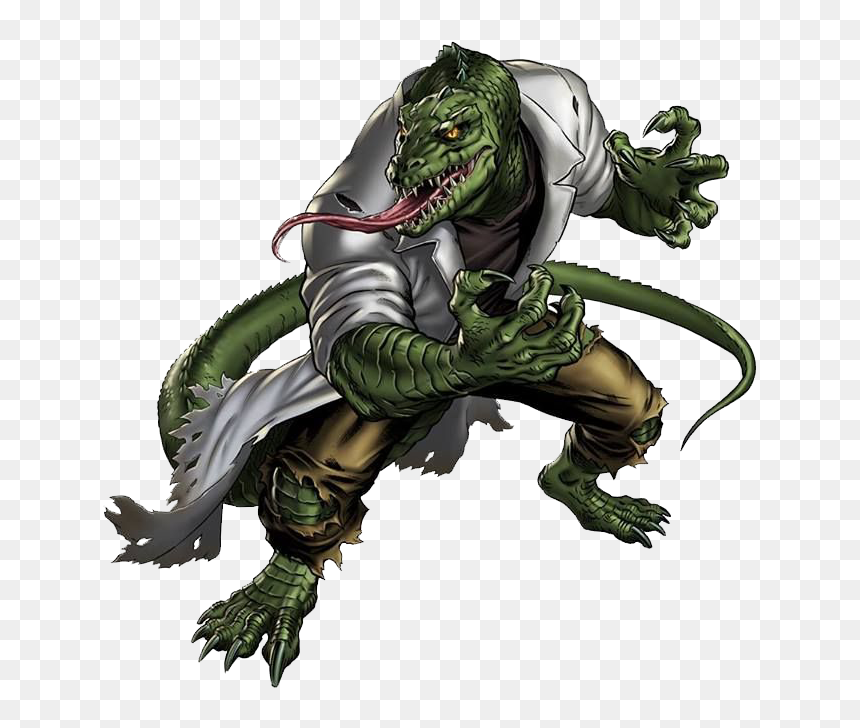 No Caption Provided - Lizard Marvel, HD Png Download