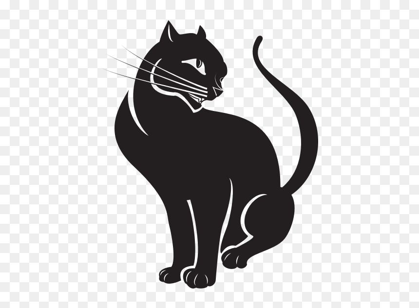 cat silhouette clip art kucing vektor hd png download 600x600 png dlf pt dlf pt