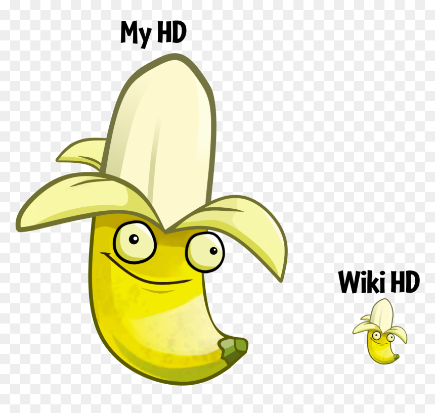 Zombies Wiki - Banana Launcher Png, Transparent Png