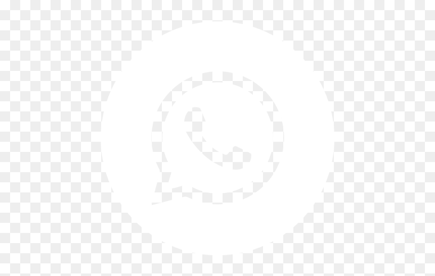 Logo Whatsapp Png Blanco, Transparent Png