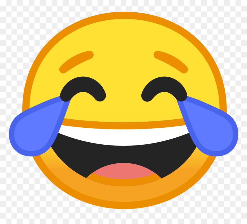 Google Laughing Emoji, HD Png Download