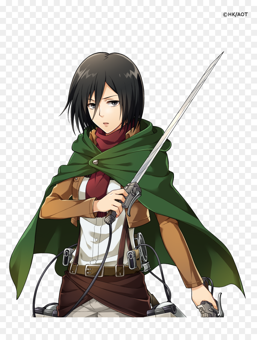 Mikasa Transparent Background, HD Png Download