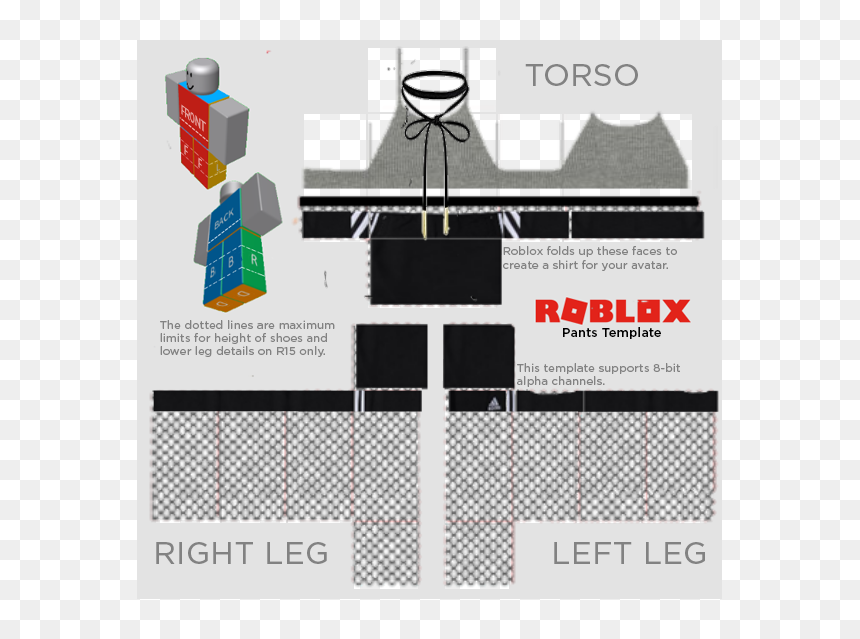 Cute Roblox Pants Template Hd Png Download 585x559 Png Dlf Pt