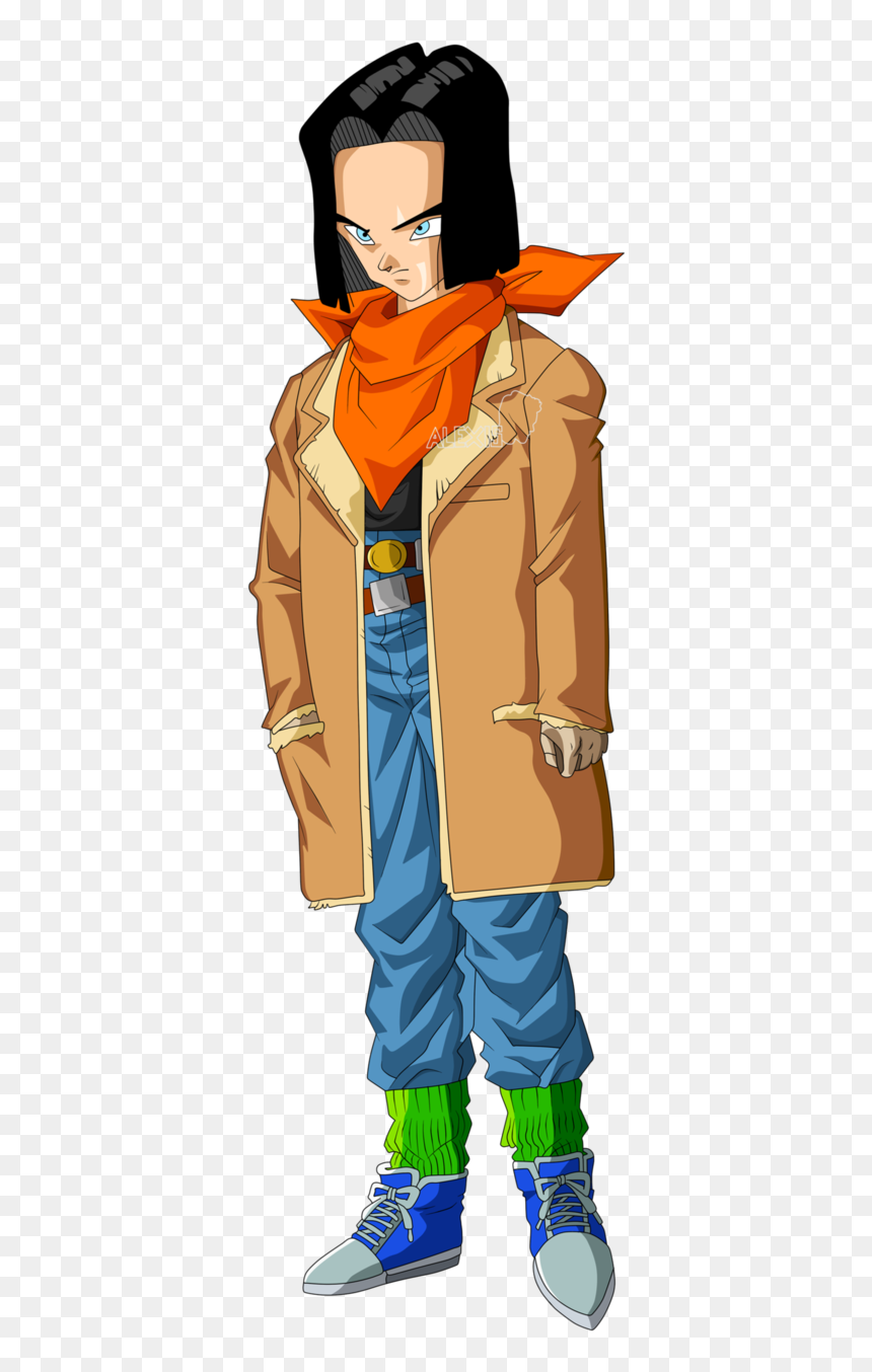 Android 17 Gt, HD Png Download